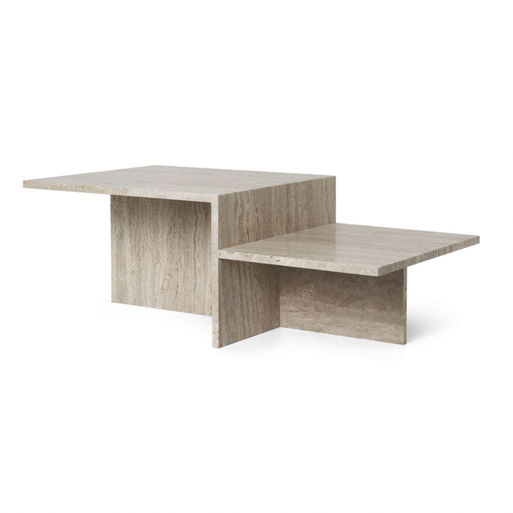 DISTINCT COFFEE TABLE TRAVERTINE i gruppen Möbler / Bord / Soffbord hos Thimar Form AB (1005362762)