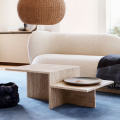 DISTINCT COFFEE TABLE TRAVERTINE