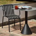PALISSADE CONE TABLE 65X65 CM ANTHRACITE